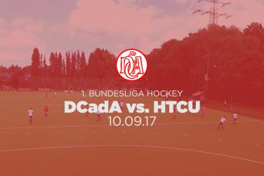 DCadA vs HTCU 1. Bundesliga Hockey Herren 17/18